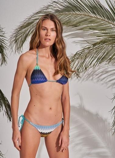 Morhipo Beach Çok Renkli Bikini Mavi